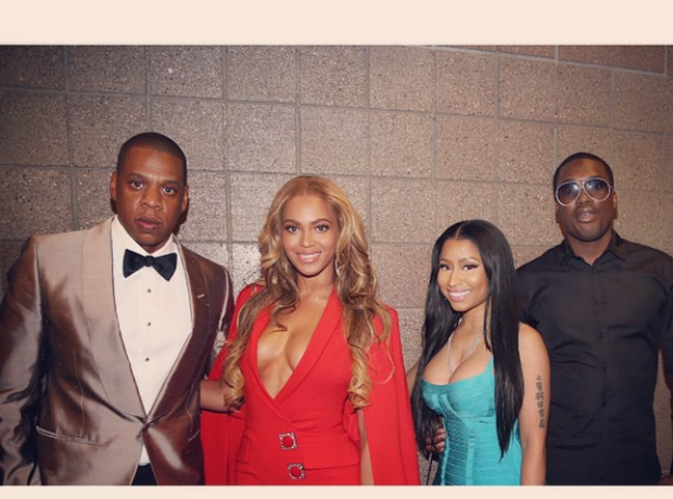 Beyonce Jay Z Nicki Minaj Meek Mill Boxing Match 2
