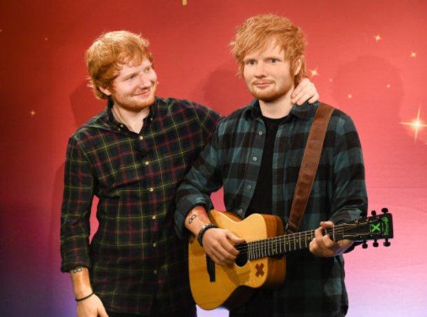 Ed Sheeran Waxwork