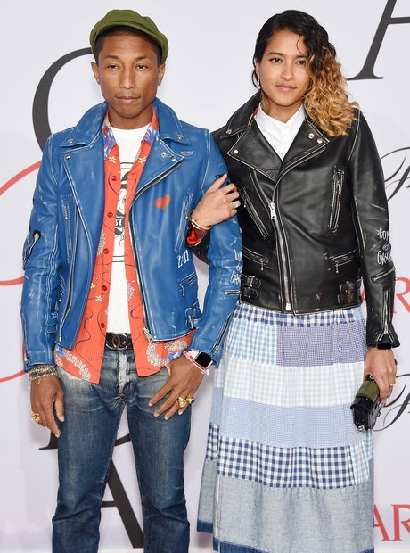 Pharrell Williams, Helen Lasichanh, 2015 CFDA Fash