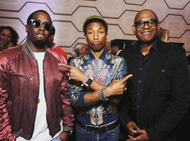 Diddy Pharrell Forest Whitaker