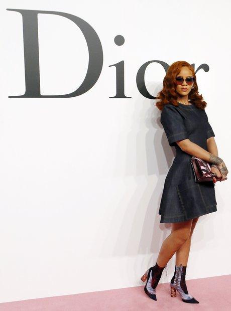 Rihanna does dior