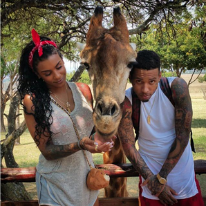 kid ink and fiance asiah azante