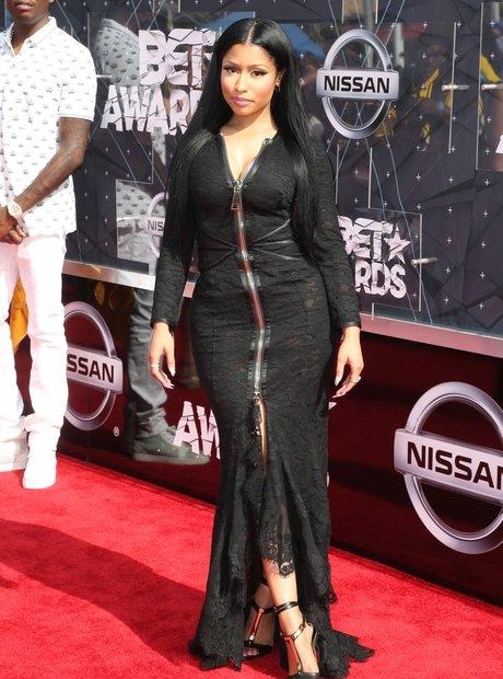 Nicki Minaj BET Awards 2015 Photobomb