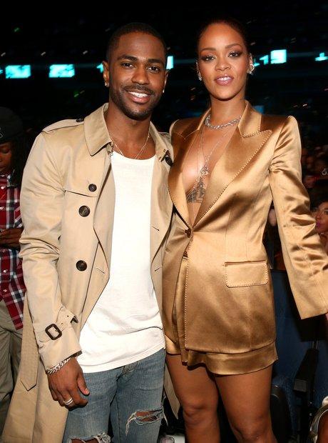 Rihanna and Big Sean BET Awards 2015