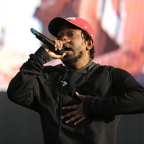 Kendrick Lemar at New Look Wireless Festival 2015