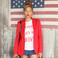 Image 5: Beyonce American flag