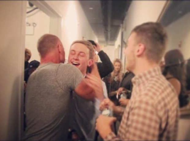 Disclosure hugged by Sting
