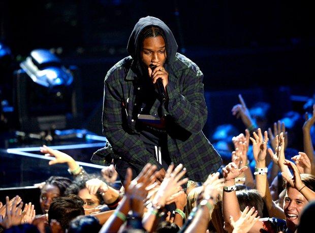 A$AP Rocky at the MTV VMAs 2015