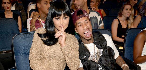 Kylie Jenner and Tyga MTV VMA's 2015