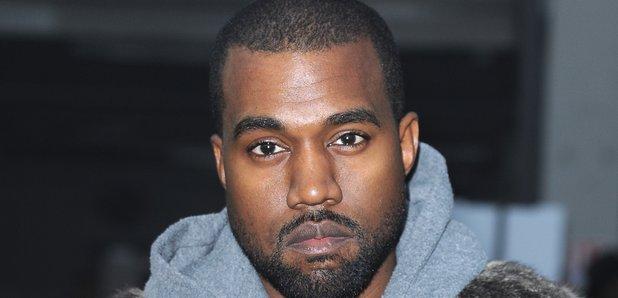 Kanye West fur coat