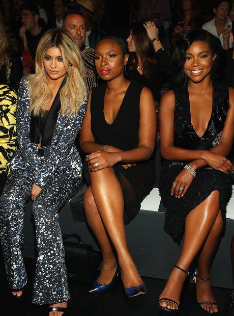 Kylie Jenner Spring 2016 New York Fashion Week