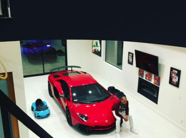 Chris Brown Ferrari House