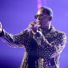 R. Kelly on stage