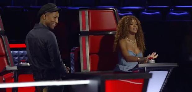 Rihanna and Pharrell The Voice US