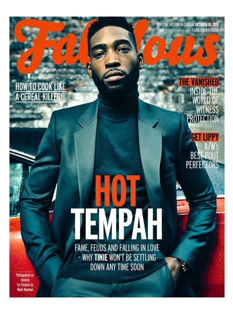 Tinie Tempah Fabulous Magazine 2015