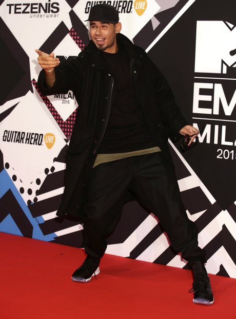 Afrojack MTV EMA's 2015 Red Carpet
