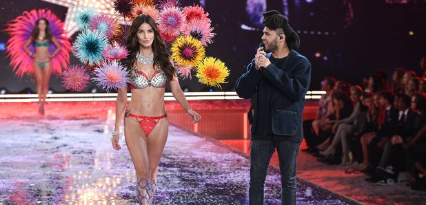 The Weeknd Victoria Secret Fashion Show