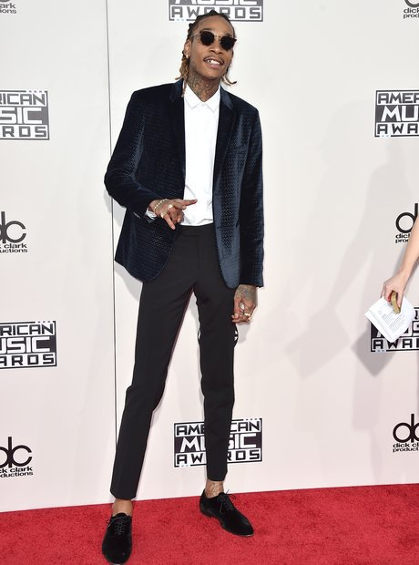 Wiz Khalifa American Music Awards 2015