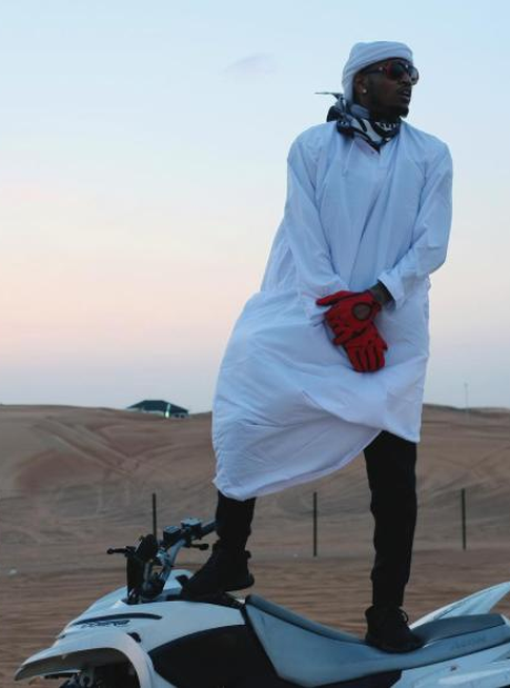 Trey Songz desert