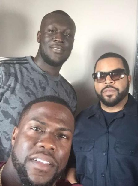 Stormzy Kevin Hart Ice Cube