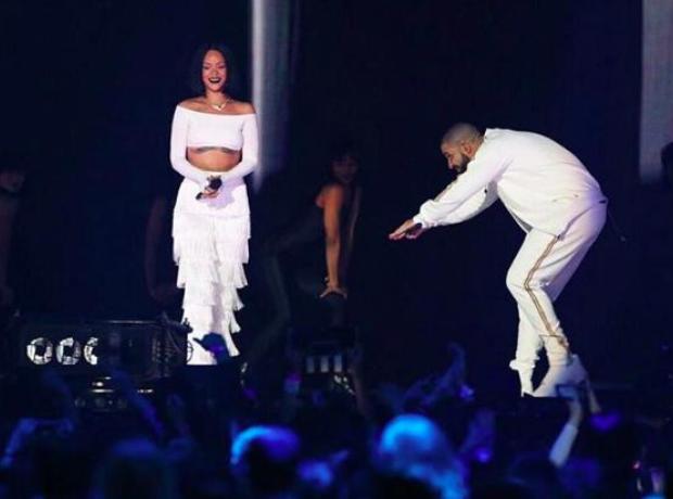 Drake Rihanna Brits