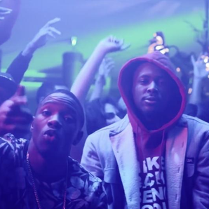 Krept & Konan with YG in club