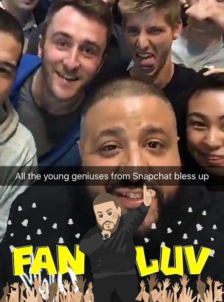 DJ Khaled Snapchat