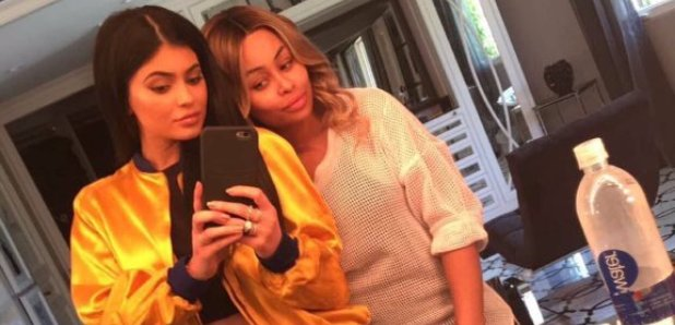 Kylie Jenner and Blac Chyna Snapchat