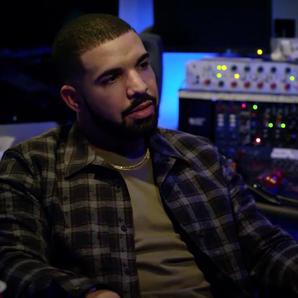Drake sat in studio