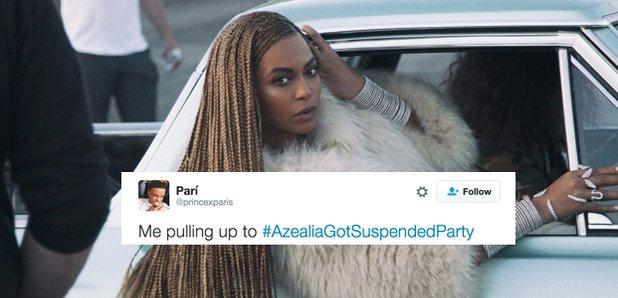 Azealia suspended twitter