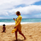 Image 3: Beyonce Jay Z Blue Ivy on Beach