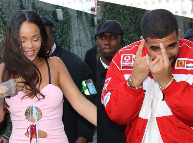 Drake and Rihanna London