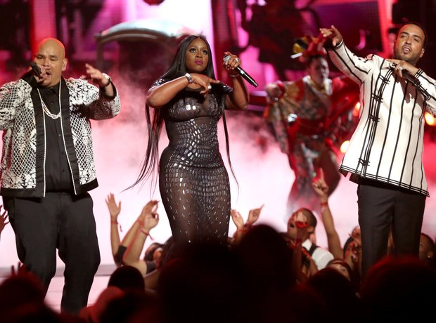 Fat Joe Remy Ma French Montana at the BET Awards 2