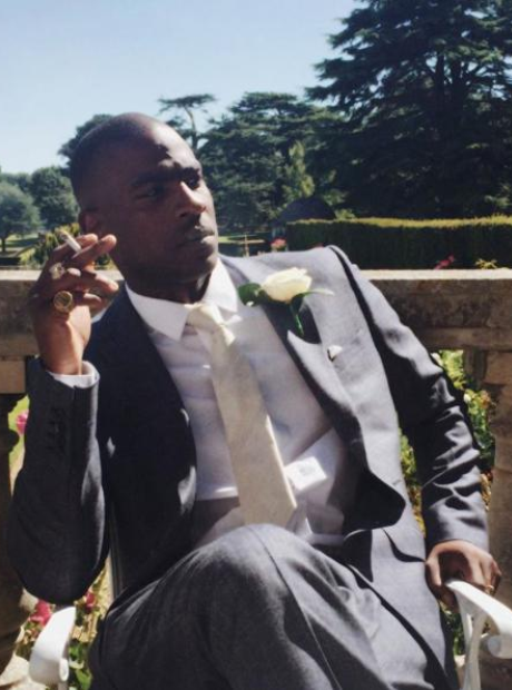 Skepta at JME Wedding