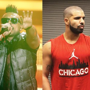 Sean Paul and Drake