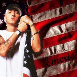 Eminem american flag