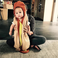 10. And finally, new mother Chrissy Teigan dressed up baby daughter Luna as a teeny tiny hotdog.