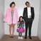 2. Hip-hop's favourite family looked picture perfect in their Barbie-inspired get-up.