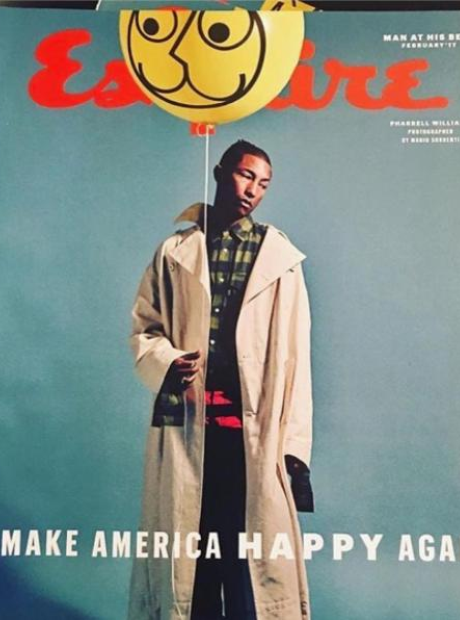 Pharrell Esquire Cover