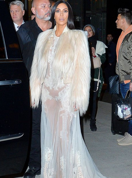 Kim Kardashian on set Ocean 8