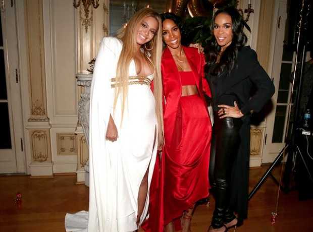 Beyonce parties after Grammy win with Destiny's Ch