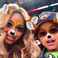 2. Beyoncé posted this Snapchat filter selfie with Blue Ivy and the Hive went crazy.