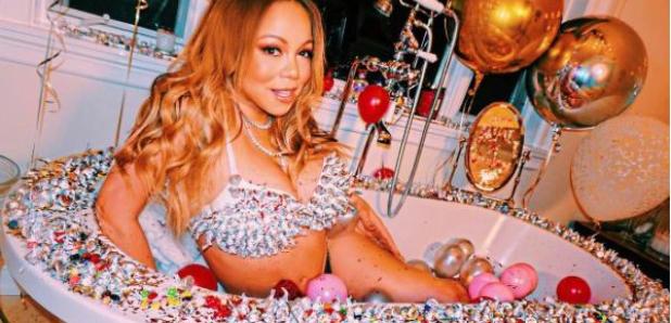Mariah Carey Bathtub