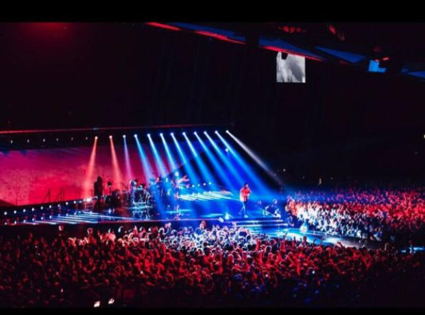 The Weeknd Legend Of The Fall Tour Stage