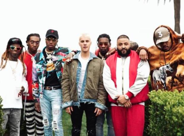 DJ Khaled, Justin Bieber, Chance The Rapper, Migos