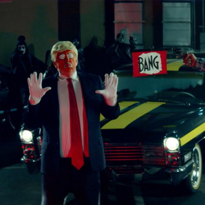 Snoop Dogg music video featuring Donald Trump