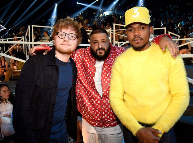 Ed sheeran DJ Khaled Chance The Rapper